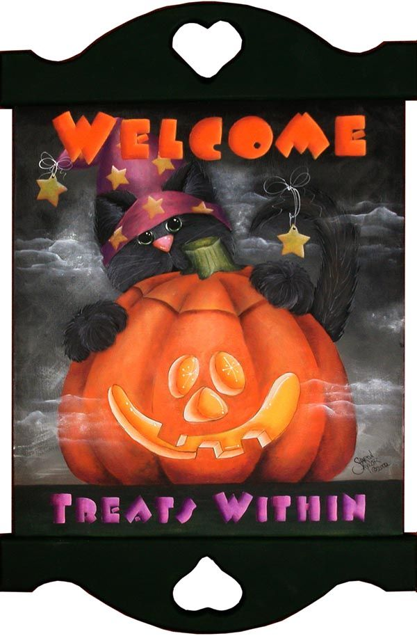 Welcome, Treats Within Sign DOWNLOAD