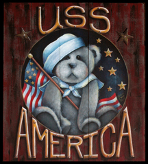 U.S.S. America Teddy Bear Sign - Sharon Chinn - PDF Download