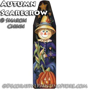 Autumn Harvest Scarecrow Ironing Board DOWNLOAD