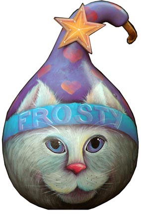 Frosty Kat Gourd ePacket  - PDF DOWNLOAD