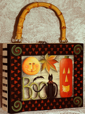 Halloween Sampler Cigar Box Purse ePacket