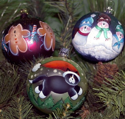Kitties Galore Ornaments PDF Download - Sharon Chinn