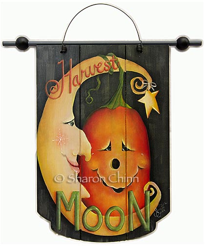 Harvest Moon Banner BY MAIL - Sharon Chinn