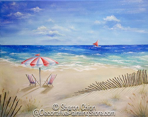 Late Afternoon at the Shore PDF Download - Sharon Chinn