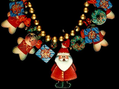 Christmas Necklace PDF Download - Sharon Chinn