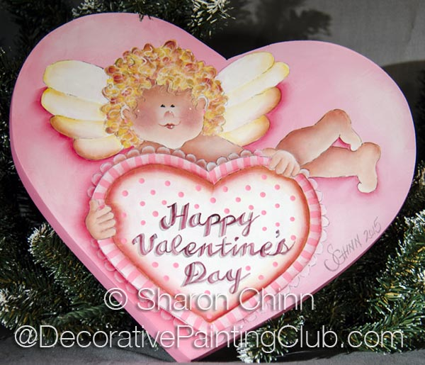 Valentine Cupid Heart ePattern by Sharon Chinn