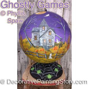 Ghostly Games Globe - Phyllis Spaw - PDF DOWNLOAD