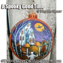 A Spooky Good Time - Phyllis Spaw - PDF DOWNLOAD