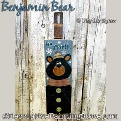 Benjamin Bear Pallet Buddy DOWNLOAD - Phyllis Spaw