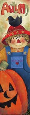 Autumn Scarecrow Sign ePacket
