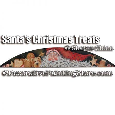 Santas Christmas Treats Door Crown BY MAIL - Sharon Chinn