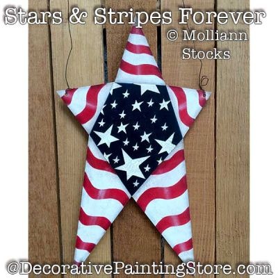 Stars and Stripes Forever- Molliann Stocks - PDF DOWNLOAD