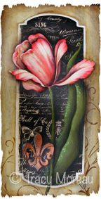 Vintage Tulip ePattern - Tracy Moreau - PDF DOWNLOAD