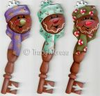 Ginger Buddies Key Ornaments ePattern - Tracy Moreau - PDF DOWNLOAD
