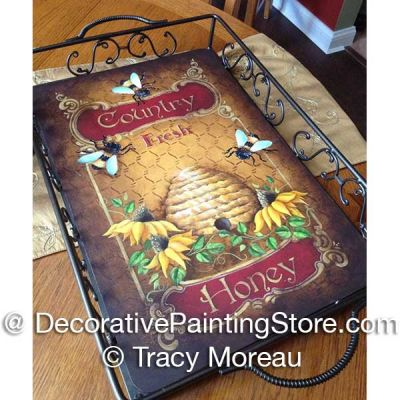 Country Honey Tray ePattern - Tracy Moreau - PDF DOWNLOAD