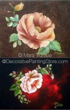 Rose Poppy A La Mara Pattern - Mara Trumbo - PDF DOWNLOAD
