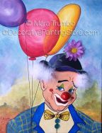 Toby the Clown Pattern - Mara Trumbo - PDF DOWNLOAD