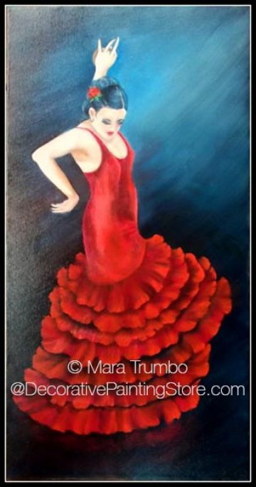 Flamenco Dancer Pattern - Mara Trumbo - PDF DOWNLOAD