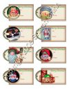 Prim Christmas eTags 02 - Set of 8