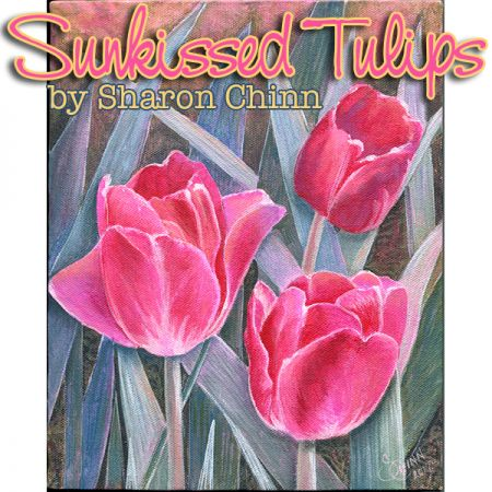Sunkissed Tulips e-Pattern - Sharon Chinn - BY DOWNLOAD