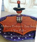 Halloween Centerpiece Lazy Susan ePattern - Vera Collier - PDF DOWNLOAD