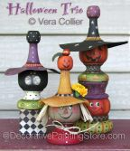 Halloween Trio Pattern - Vera Collier - PDF DOWNLOAD