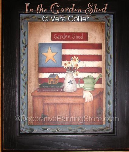 In the Garden Shed Pattern - Vera Collier - PDF DOWNLOAD