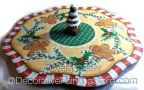 Gingerbread Lazy Susan ePattern - Vera Collier - PDF DOWNLOAD