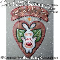 The Little Bunny Painting Pattern PDF DOWNLOAD - Martina Elena Vivoda