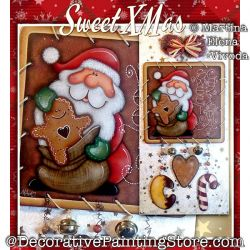 Sweet Xmas Painting Pattern PDF DOWNLOAD - Martina Elena Vivoda