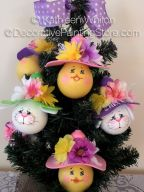Upcycled Easter Ornaments - Kathleen Whiton - PDF DOWNLOAD