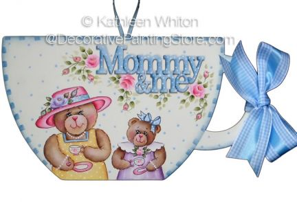 Tea for Mommy and Me Pattern - Kathleen Whiton - PDF DOWNLOAD