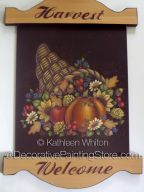 Harvest Welcome Pattern - Kathleen Whiton - PDF DOWNLOAD