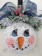 Snowman Strainer ePattern - Kathleen Whiton - PDF DOWNLOAD