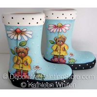Rain Boots ePattern - Kathleen Whiton - PDF DOWNLOAD