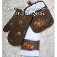Fall Kitchen Trio Pattern - Kathleen Whiton - PDF DOWNLOAD