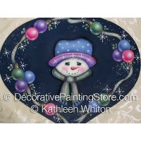 Snowman with Ornies Pattern - Kathleen Whiton - PDF DOWNLOAD