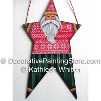 Sweater Santa Santa Ornament Pattern - Kathleen Whiton - PDF DOWNLOAD