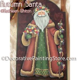 Autumn Santa Pattern - Kathleen Whiton - PDF DOWNLOAD