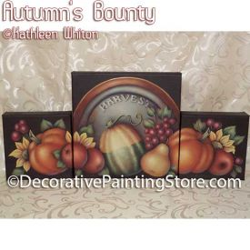 Autumns Bounty Pattern - Kathleen Whiton - PDF DOWNLOAD