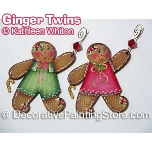 Ginger Twins Pattern - Kathleen Whiton - PDF DOWNLOAD