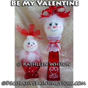 Be My Valentine Pattern - Kathleen Whiton - PDF DOWNLOAD