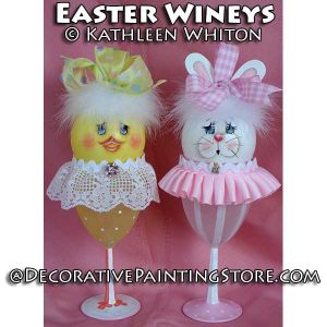 Easter Wineys Pattern - Kathleen Whiton - PDF DOWNLOAD