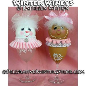 Winter Wineys Pattern - Kathleen Whiton - PDF DOWNLOAD