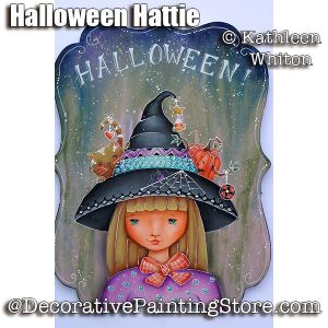 Halloween Hattie Pattern - Kathleen Whiton - PDF DOWNLOAD