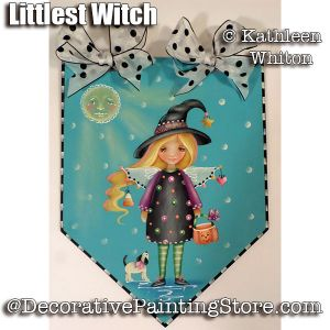 Littlest Witch Pattern - Kathleen Whiton - PDF DOWNLOAD