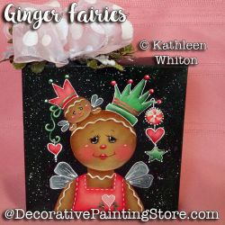 Ginger Fairies Pattern - Kathleen Whiton - PDF DOWNLOAD