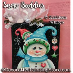 Snow Buddies Pattern - Kathleen Whiton - PDF DOWNLOAD
