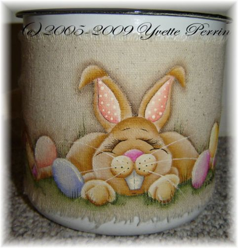 Easter Bunny Wrap e-Pattern DOWNLOAD