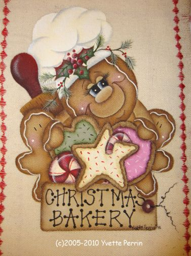 Sweet Gingerbread Delights e-Pattern DOWNLOAD